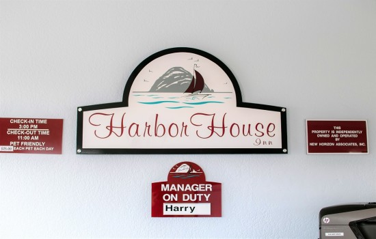 Welcome To Harbor House Inn - Harbor House Inn's Office